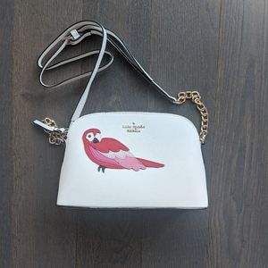 NWOT Kate Spade Rachelle Parrot Crossbody Bag